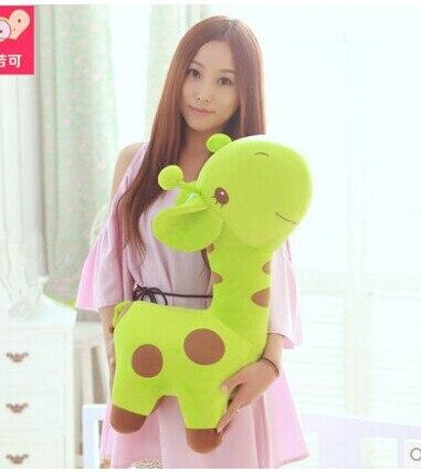 huge 70cm lovely giraffe plush toy cartoon giraffe doll,throw pillow, girlfriend pillow, Christmas gift b4544 the huge lovely hippo toy plush doll cartoon hippo doll gift toy about 160cm pink