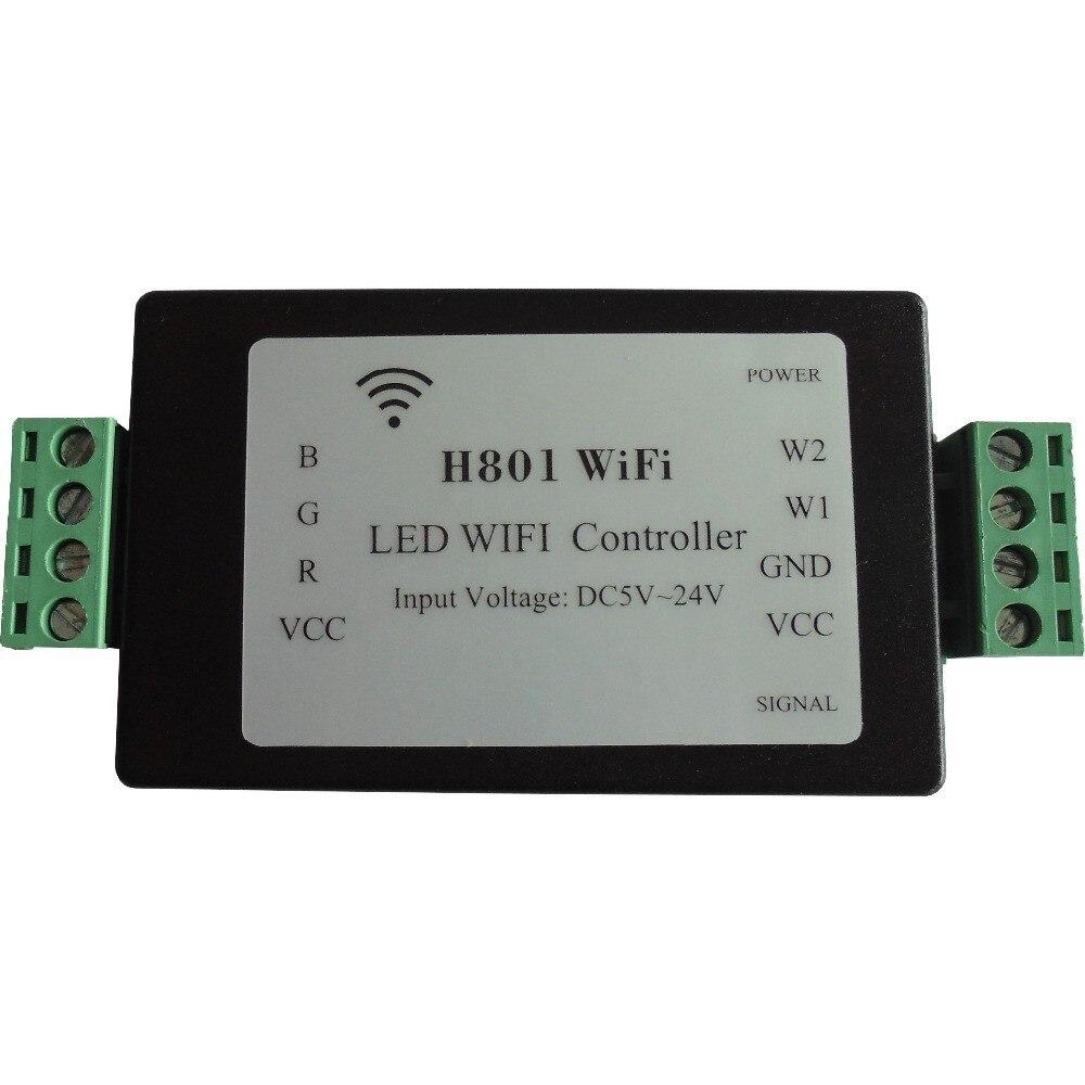 RGBW RGBWW LED Strip Licht WiFi Controller Dimmer ESP8266 (Android ...