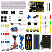 Free shipping!Keyestudio Basic Starter  Kit  /Learning Kit For Arduino Education Project  STEM With uno R3 +PDF(online) keyestudio w5100 ethernet щит для arduino uno r3 mega 2560