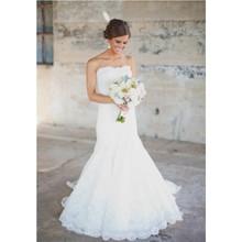 kissbridal Stunning Beautiful Mermaid Wedding Dresess