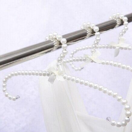 Grucce Per Abiti.10 Pz Perle Bianche Grucce Per Il Vestito Adulto Plastica