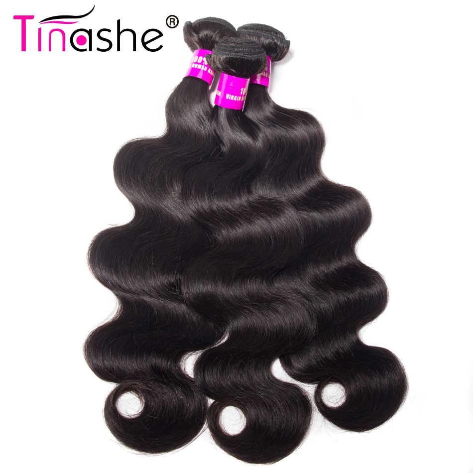 Tinashe Haar Nertsen Braziliaanse Body Wave 4 Bundels Remy Human Hair Bundels Deal Natuurlijke Zwarte Kleur Braziliaanse Haar Weefsel Bundels