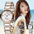 Sunkta женские часы Лидирующий бренд роскошные керамические водонепроницаемые часы женские повседневные модные часы с бриллиантами кварцевы...