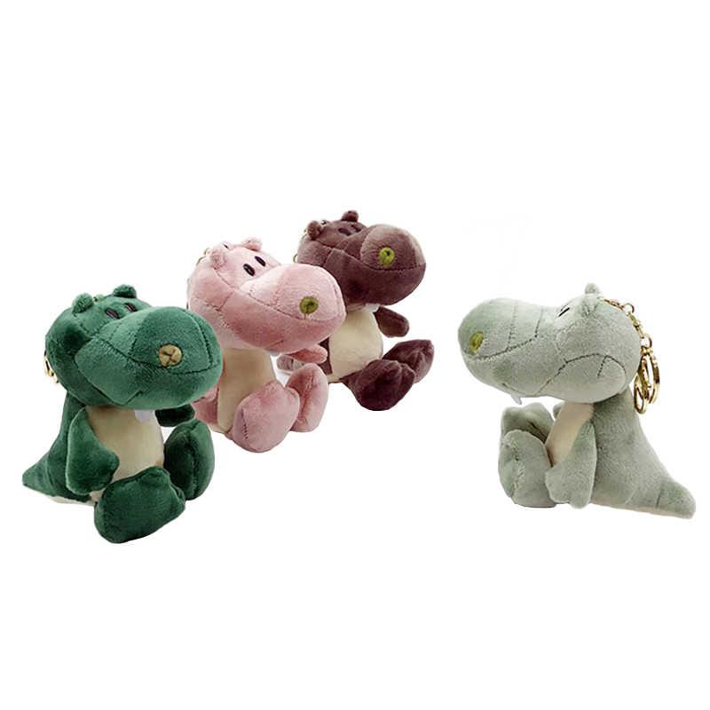 Милый мультфильм животных плюшевая игрушка брелок рюкзак брелок для ключей маленький подарок пара 18 см Динозавр для детей подарок 2019 Новый