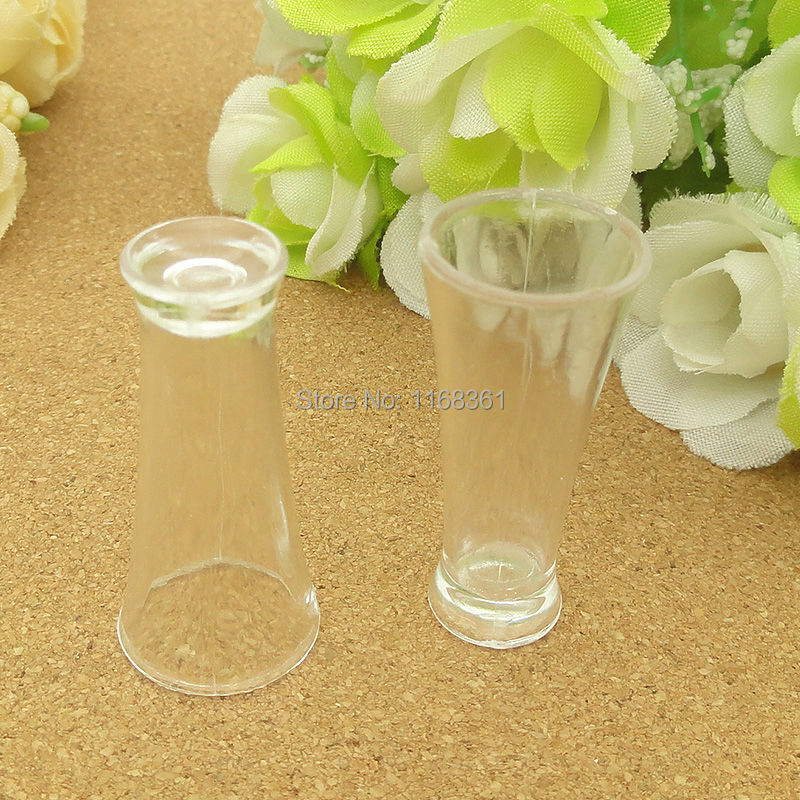5pcs/lot Clear Wide Mouth Cup Imitation Pvc Plastic Glass 35mm Artificial Parfait Cups Miniature Food Deco Part A012-29 Packing Of Nominated Brand Home & Garden Home Decor