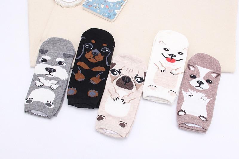 New Design Cute socks women lovely dogs 3d Socks South