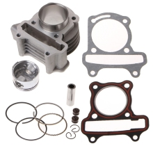 47mm Big Bore Cylinder Piston Kit Rings For Scooter Moped GY6 50 60 80 139QMB goofit motorcycles big bore 50mm cylinder rebuild kit gy6 50cc 139qmb racing scooter parts 64mm valve group 11