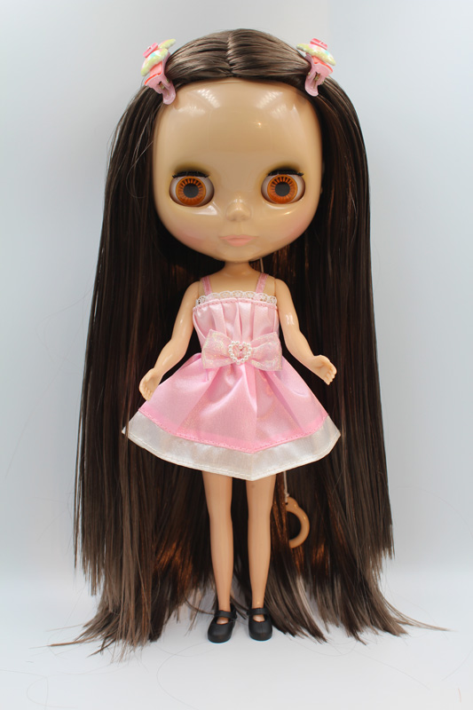 Free Shipping big discount RBL-331 DIY Nude Blyth doll birthday gift for girl 4colour big eye doll with beautiful Hair cute toy free shipping big discount rbl 331 diy nude blyth doll birthday gift for girl 4colour big eye doll with beautiful hair cute toy