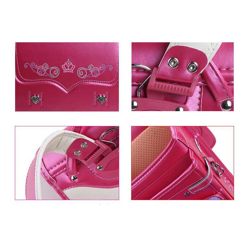 Colorfulyou детская школьная сумка детский PU вышитый цветы детский ортопедический рюкзак для девочек японский студенческий рюкзак 2019