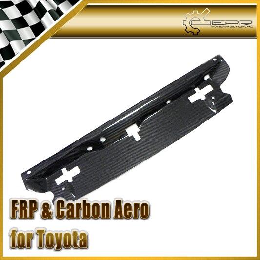 Автомобиль Стайлинг для Toyota Supra 93 98 MK4 углеродного волокна JZA80 Апрель Тип охлаждения Панель Глянцевая fibre воды бак Авто обвес