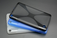 Anti-skid Mat X Soft Line Silicon Caoutchouc TPU Gel de Couverture de Peau protecteur Cas Pour Amazon Kindle Fire HD7 HD 7 2015 Version Tablet