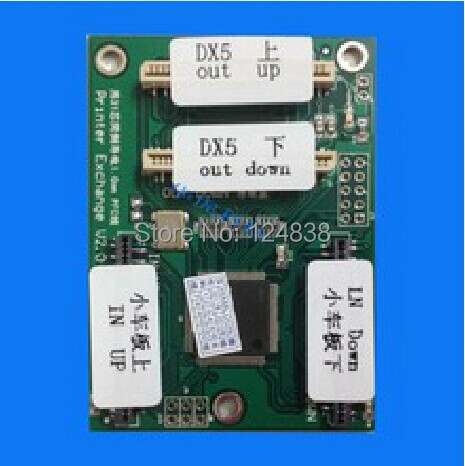 Free shipping DX5 Print Head Decryption Card For all model  Epson printer Head Decryption for hyundai i20 2008 2013 pb chrome door handle cover trim set 2009 2010 2011 2012 car accessories stickers car styling