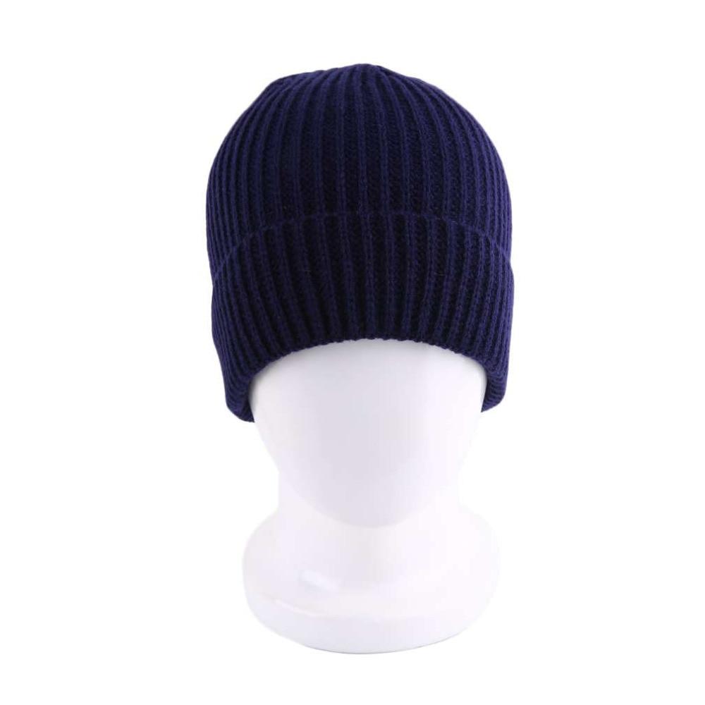 High Quality Vintage Single Layer Stripe Design Cap Skullies Winter Keep Warm Protect Ear Hats For Men Women Casual Type LZ110 skullies