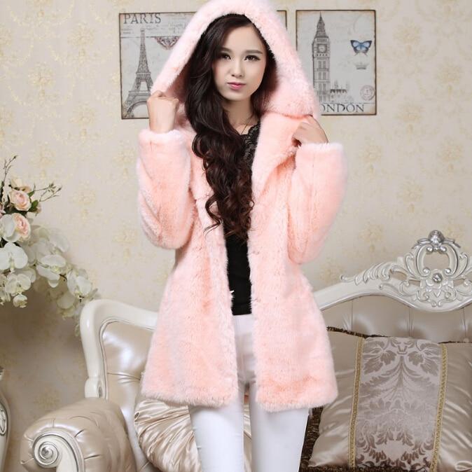 Online Get Cheap Hot Pink Fur Jacket -Aliexpress.com   Alibaba Group