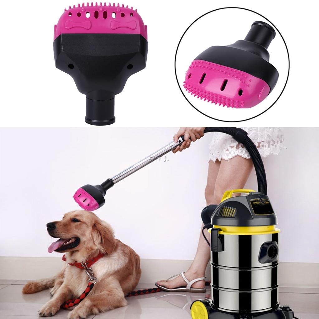 Pet Vacuum Cleaner Brush Nozzle Accessories 32mm Dog Cat Massage Hair Comb Tools