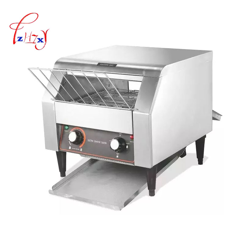 Electric Conveyor Toaster ATS-150 oven for commercial toaster bread maker 150-180 Slices of bread for 1 hour 1pc electric conveyor toaster ct 150 conveyor toaster oven 150 180 slices of bread 1hr