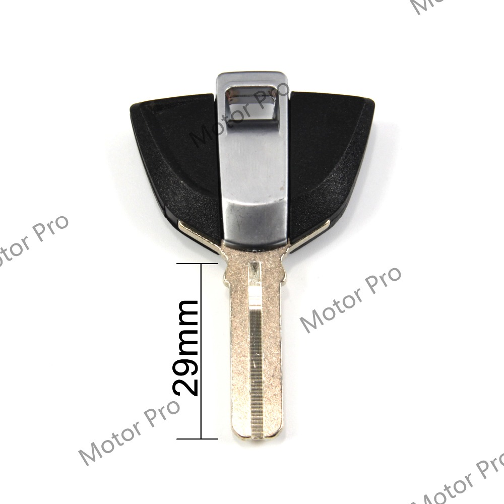 Uncut Blade Blank Key For BMW F800GS F800ST K1200R R1200GS 2013 - 2015 Motorcycle Replacement Accessories Aluminum BLACK K 1200R