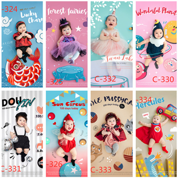 Dvotinst Baby Photography Props Creative Modeling Theme Background Outfits Set Fotografia Accessories Studio Shoots Photo Props