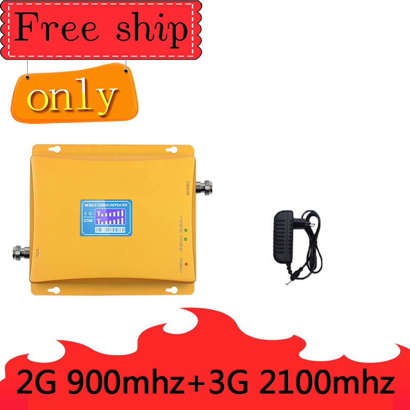 TFX-BOOSTER GSM 900mhz WCDMA 2100mhz Cellular Signal Booster  Dual Band Cellphone Repeater GSM 2G 3G UMTS Signal Amplifier
