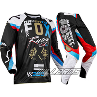 2017 Motorcycle Driving 360 MX Racing Rohr Jersey & Pant Combo Motocross Gear ATV Dirt Bike Off road Cycling Suit