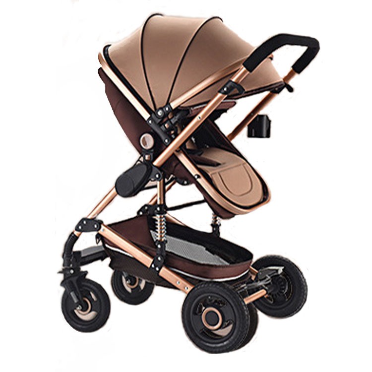 Baby Stroller 3 In 1 Can Sit and Fold Light and High Landscape Two-way Newborn Shock Absorber Baby Sleeping Basket Baby CarriageBaby Stroller 3 In 1 Can Sit and Fold Light and High Landscape Two-way Newborn Shock Absorber Baby Sleeping Basket Baby Carriage