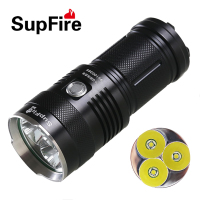 High Power 3 CREE MX T6 2000 Lumen LED Flashlight Lighting Distance Of 300 Meters Use