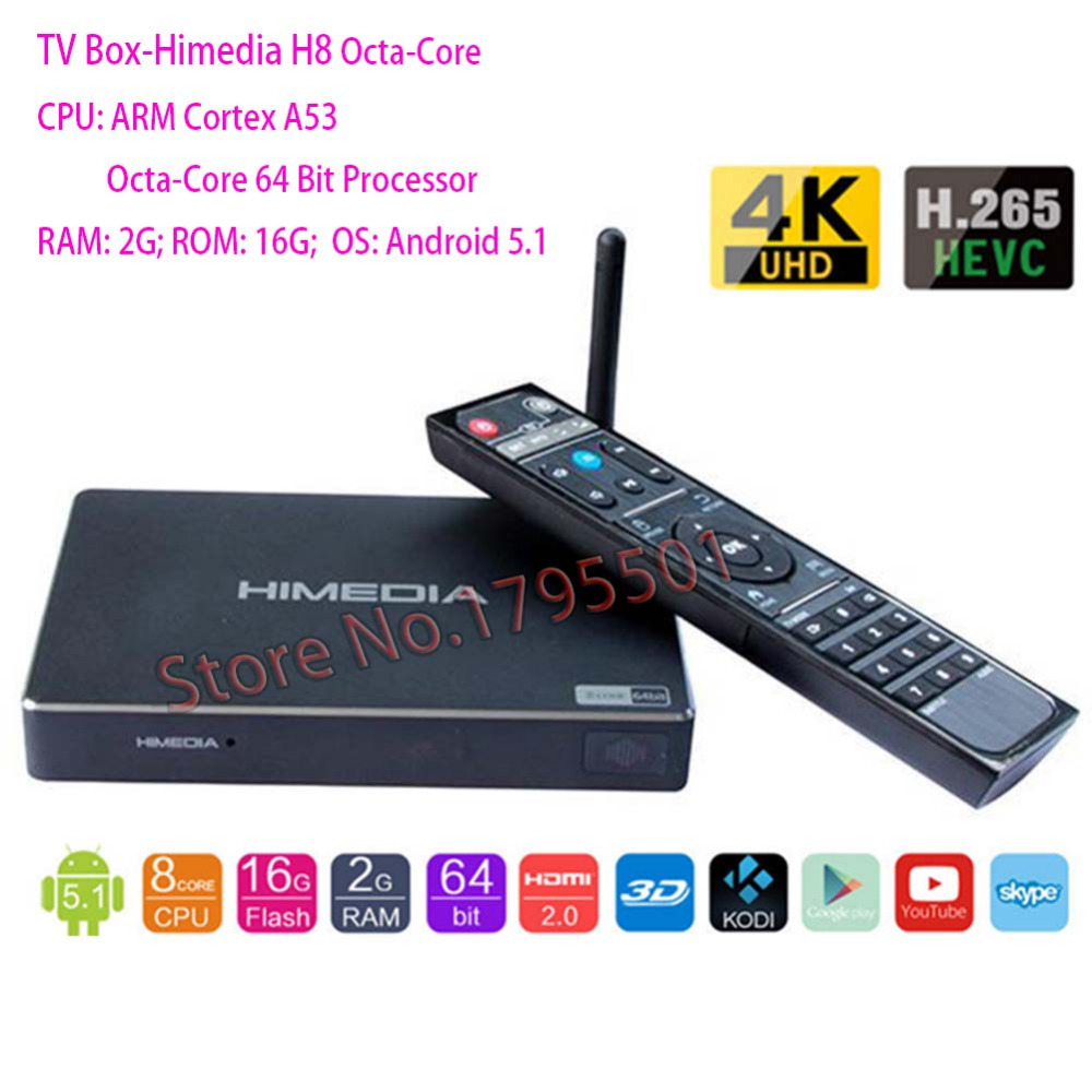 2018 Lastest HIMEDIA H8 Pro 2GB 16GB Octa Core UHD Smart Android TV Box WiFi 3D 4K Media Player PK Mi Box 3 X96 Mini H96 Pro X92 2018 lastest himedia h8 pro 2gb 16gb octa core uhd smart android tv box wifi 3d 4k media player pk mi box 3 x96 mini h96 pro x92