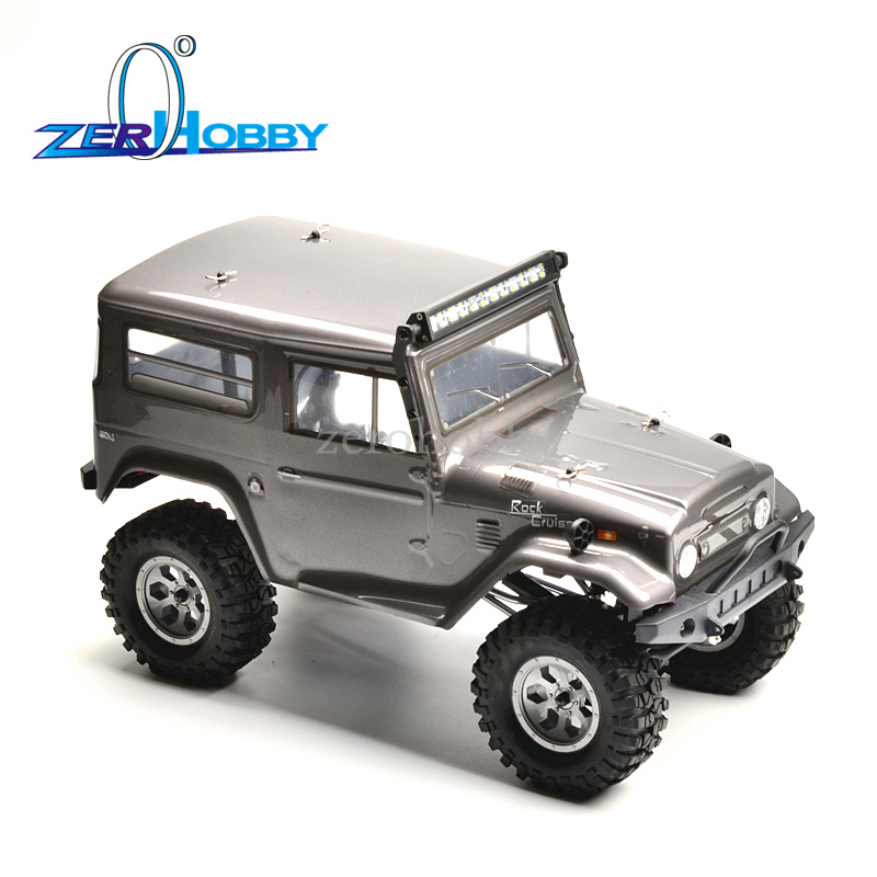 HSP Racing Rc Car 1/10 Scale Electric 4wd Off Road Rock Crawler Cruiser RC-4 Climbing High Speed Hobby Remote Control Car 136100 rc hobby model metal hole puncher hsp 1 10 scale models rc car shell reamer drills 0 14mm 80105 tool remote control cars