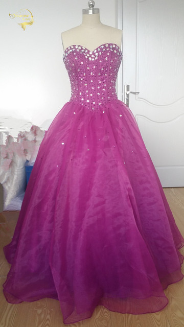 400c49c7d6a 2019 Jeanne Love OFF Shoulder Ball Gown Dress For 15 Years Cheap Red Quinceanera  Dress Sweet