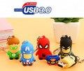 Captain  Superman Iron Man Green Spider Batman new style USB 3.0  League of Legends  usb flash drive 4GB-64GB   YYS23