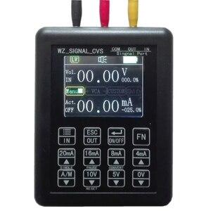 Высокоточный регулируемый ток напряжение аналоговый симулятор 0-10 В 4-20мА генератор сигналов источники передатчик калибратор