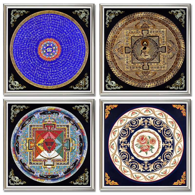Art pictures of animals picture more detailed picture - Cuadro mandala madera ...