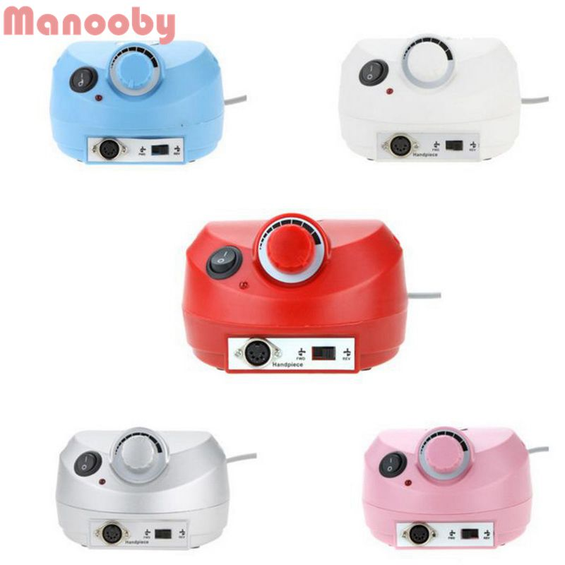 MManooby Pro Electric Nail Drill Machine Manicure Pedicure Files Tools Kit Nail Polisher Grinding Glazing Machine for Gel PolishMManooby Pro Electric Nail Drill Machine Manicure Pedicure Files Tools Kit Nail Polisher Grinding Glazing Machine for Gel Polish