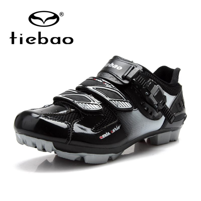Tiebao Outdoor sports Mountain Biking Shoes MAGIC TAPE Deductions Bicycle Lock Mountain Bike Shoes Professional Cycling Shoes