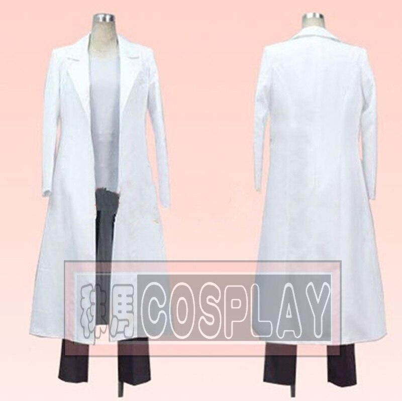 Anime Steins Gate Okabe Rintarou Cosplay Costume