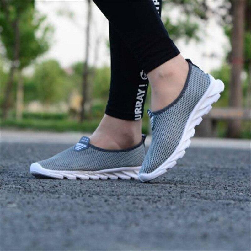 Tenis Sneakers grey Air Paire Femmes Chaussures Casual 1 Respirant Femelle Black pink Vulcaniser De Mode blue Mesh D'été darkpink p7PHTpwq