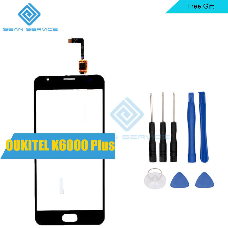 For OUKITEL K6000 Plus Sensor Touch Screen Perfect Repair Parts Touch Panel for K6000 Plus tools 5.5 stock