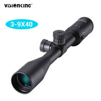 Visionking 3 9x40 Waterproof Riflescopes Mil Dot Reticle for Hunting Target Shooting Sniper Rifle Scope