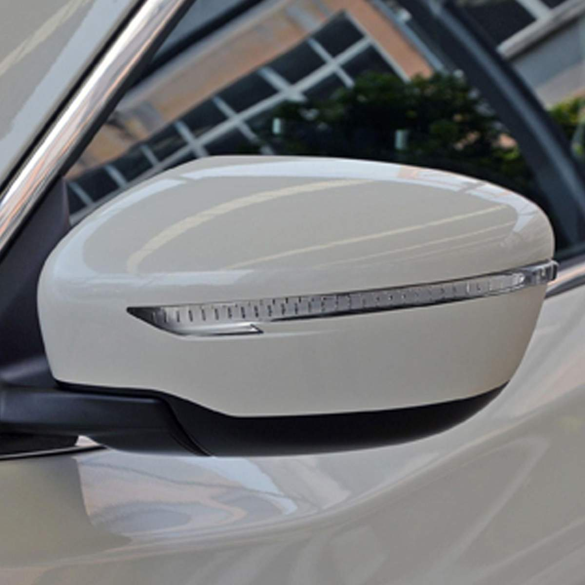 Compatible product VOLVO Wing Mirror Glass Silver Frosted Car Stickers