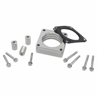 1068 Throttle Body Spacer fits models with 4.0L/ 2.5L engines only fits 4 bolt throttle Bodies for Jeep XJ, Comanche MJ WJ etc