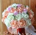 Artificial flower accessories wedding bouquets ramo de novia bridesmaid bouquet romantic wedding flowers bridal bouquets