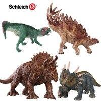 Jurassic dinosaur animal model to do simulation of children's toys Triceratops Parrot Dragon Nailed Dragon Styracosaurus