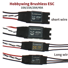 Hobbywing XRotor Brushless ESC 2-6S 10A 15A 20A 40A SimonK No BEC High Refresh f