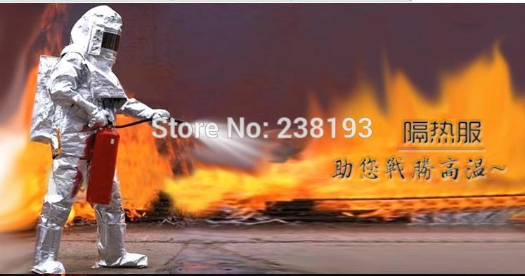 500 ℃ 932 ℉ protipožární oděvy, ohnivzdorné oděvy, obleky na ochranu proti tepelné radiaci, ochranné obleky proti vysoké teplotě