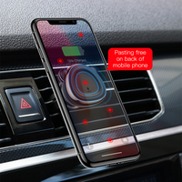 Baseus Magnetic Car Phone Holder For iPhone Samusung 360 Rotation Air Vent Mount Mobile Phone Holder Stand for Car Holder 1