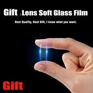 Image 3 - 2 adet ekran koruyucu Samsung S9Plus S10 artı Note20 ultra temperli cam sıvı tam tutkal UV mate 20 30 pro P30 Pro P40 Pro
