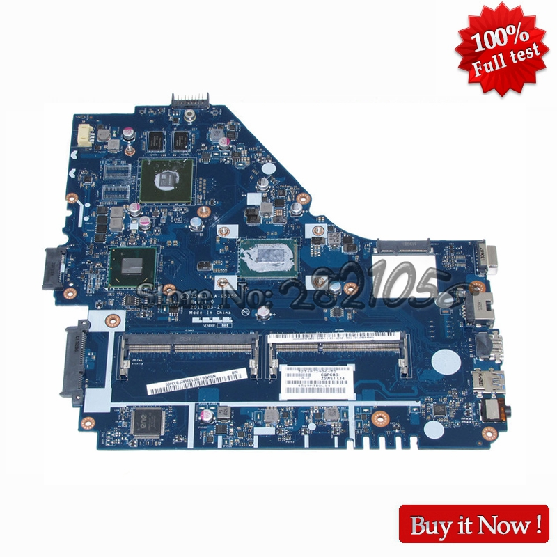 NOKOTION Z5WE1 LA-9535P Pour Acer aspire E1-570 E1-570G Mère D'ordinateur Portable i5 CPU DDR3 GT740M GPU Pleine Testé