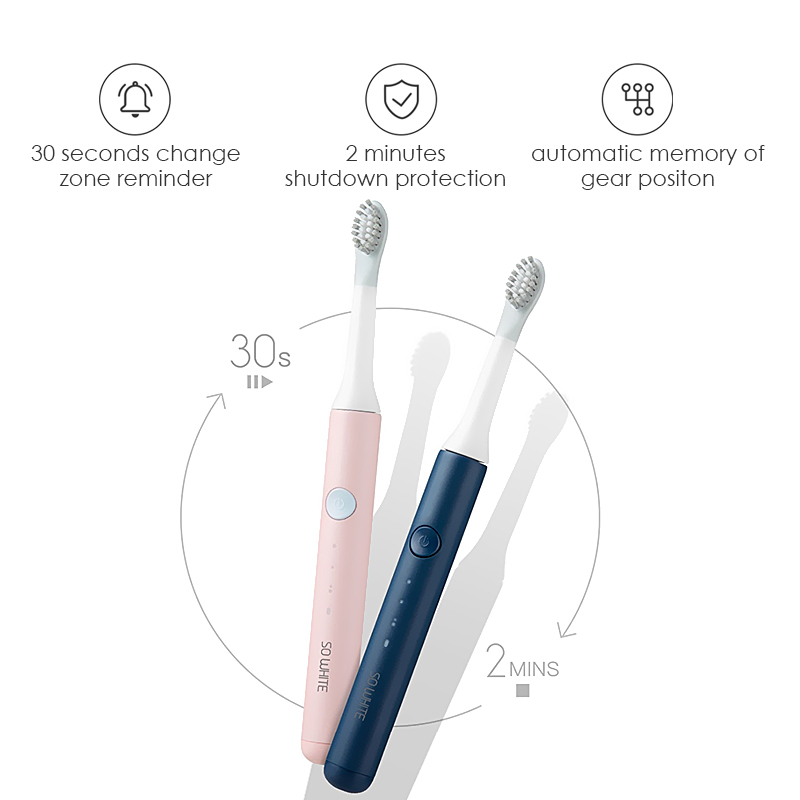SOOCAS SO WHITE PINJING EX3 Sonic Electric Toothbrush Ultrasonic Automatic Smart Tooth Brush Wireless Rechargeable Waterproof 3