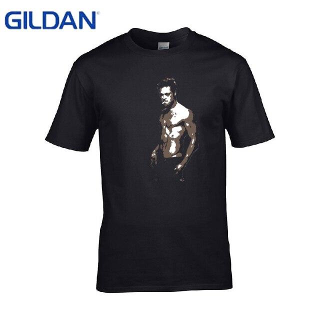 Lucha Club Blanco Fury Verano Brad Pitt Camiseta Moda Se7en FvOq1x