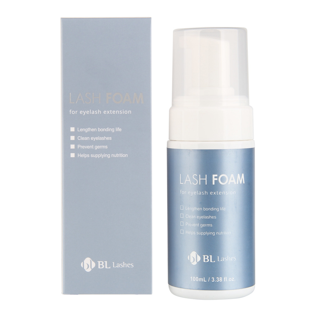 Blink 100ml Powerful Soft False Eyelashes Cleaning Foam Detergent Eyelash Extension Tools Makeup Eyelash Foam Eyelashes Cleanser